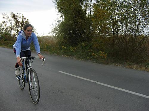 Triathlon and Biathlon in Ohrid 29.10.2005