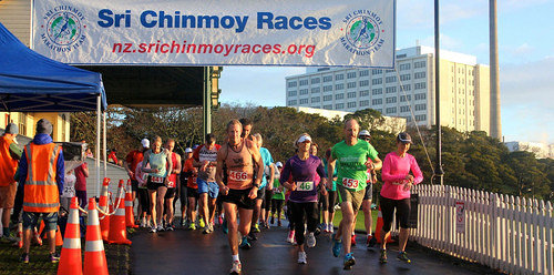 Sri Chinmoy Half Mthn 5-10k & Children's 1.5k, Auckland Domain ... 13 July 2014