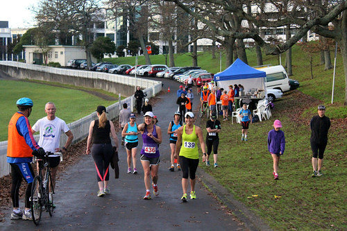Sri Chinmoy Half Mthn 5-10k & Children's 1.5k, Auckland Domain ... 08 June 2014