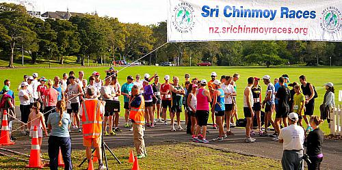 Sri Chinmoy Half Mthn 5-10k & Children's 1.5k, Auckland Domain ... 01 April 2012