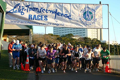 Sri Chinmoy Half-Mthn & 5-10k, Auckland Domain ... 26 July 2009