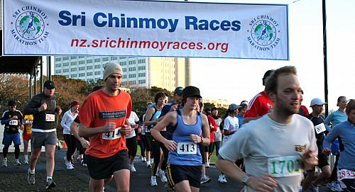 Sri Chinmoy 5-10-20k, Auckland Domain ... 18 July 2010