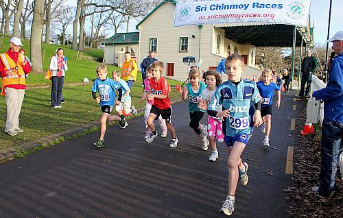 Sri Chinmoy Half Mthn 5-10k & Children's 1.5k, Auckland Domain ... 07 Aug 2011