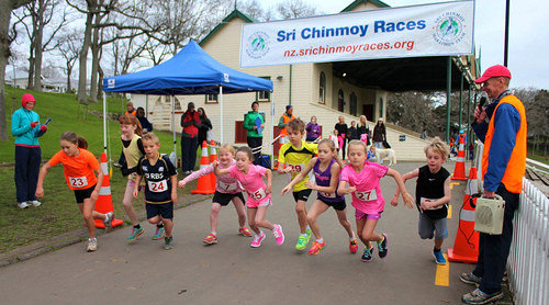 Sri Chinmoy Half-Mthn 5-10k & Children's 1.5k, Auckland Domain ... 10 August 2014