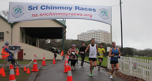 Sri Chinmoy Half Mthn 5-10k & Children's 1.5k, Auckland Domain ... 15 July 2012