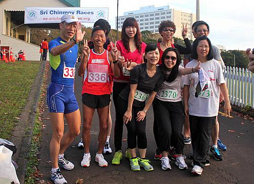 Sri Chinmoy Half Mthn 5-10k & Children's 1.5k, Auckland Domain ... 13 May 2012