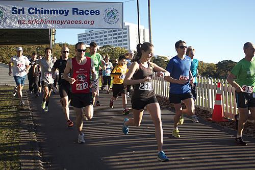Sri Chinmoy Half Mthn 5-10k & Children's 1.5k, Auckland Domain ... 12 May 2013