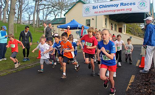 Sri Chinmoy Half Mthn 5-10k & Children's 1.5k, Auckland Domain ... 09 Sep 2012