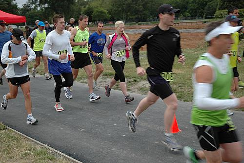 100 km Race, Hagley Park, 11 December 2011