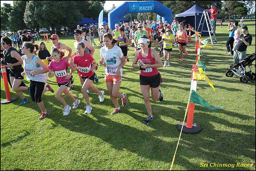 Sri Chinmoy (Melbourne) Cherry Lake (Altona) Run, 30th Nov. 2014