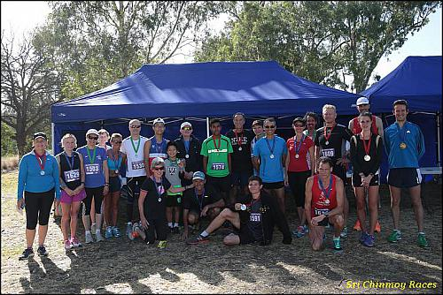 Sri Chinmoy Yarra Boulevard, Melbourne, 23rd Feb. 2014:- 15km, 10km & 5km Run