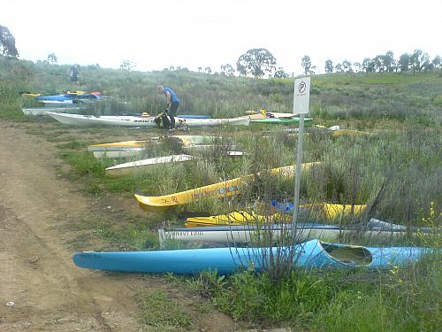 "The kayak ""compound"""