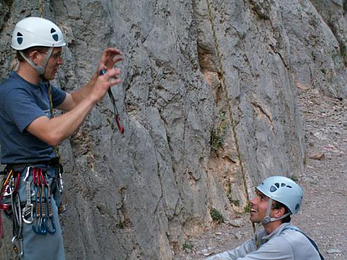 Talking about the crux point