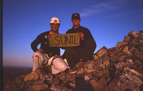 On the summit with Sunil