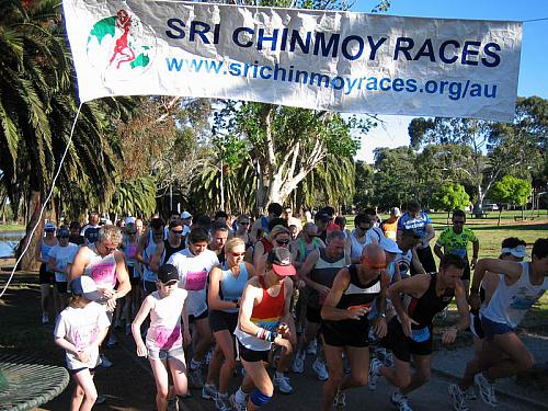Melbourne Sri Chinmoy Maribyrnong River Run 2005
