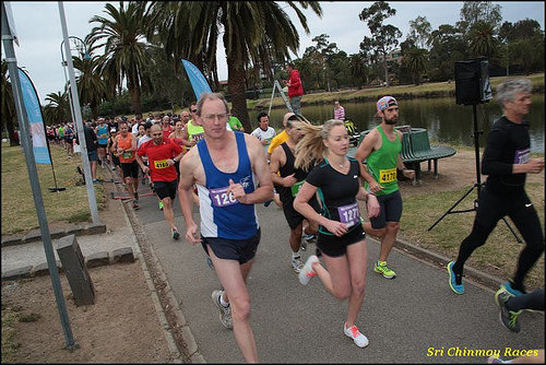 Sri Chinmoy Maribyrnong River Run, Melbourne 2014-10-26