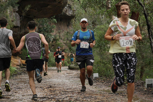 Sri Chinmoy Sydney Series 2015 race 4, Royal National Park 3 May 2015