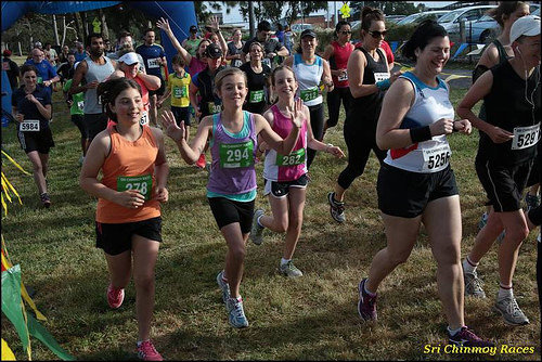 Sri Chinmoy Yarra Bend Park 10km & 5km Trail Run , 2014-11-09