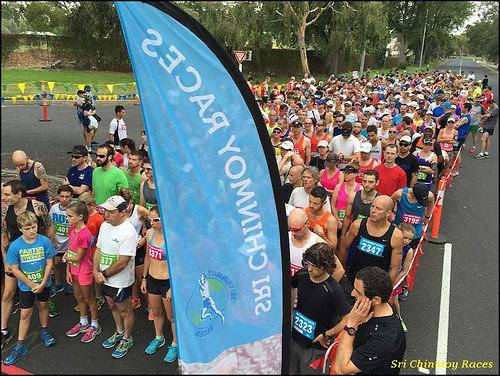 Sri Chinmoy Yarra Boulevard, Melbourne, 22nd Feb. 2015:- 15km, 10km & 5km Run