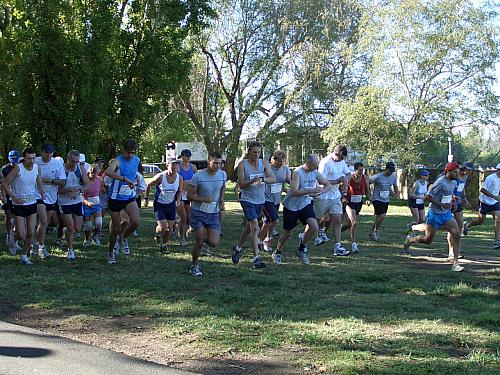 Canberra Sri Chinmoy 10km & 4km Fun Run 28 March '05