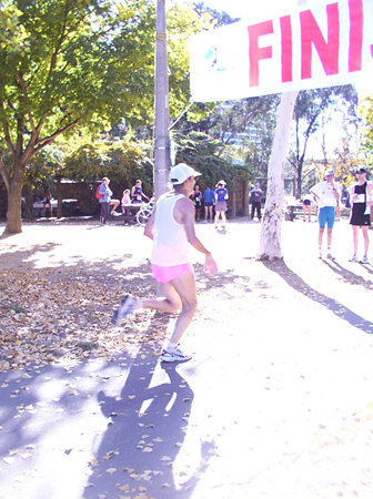 Canberra Sri Chinmoy Mother's Day 10 km & 4 km Fun-Run 2005