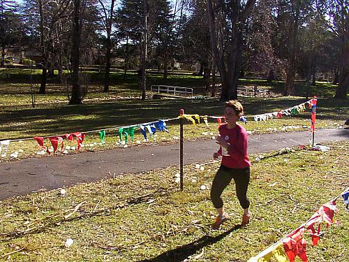 Sri Chinmoy Canberra Half-Marathon 17 July 2005