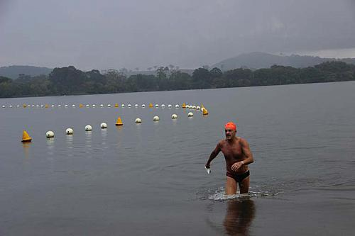 Sri Chinmoy Lake Swims