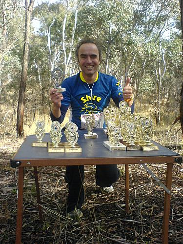 Sri Chinmoy Off-Road Duathlon Black Mountain 11 June 2006