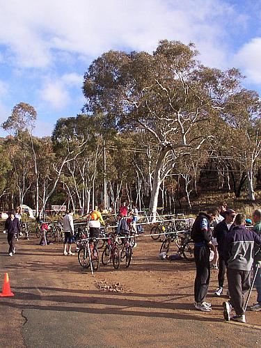 Sri Chinmoy Off-Road Duathlon Black Mountain 2 July 2005