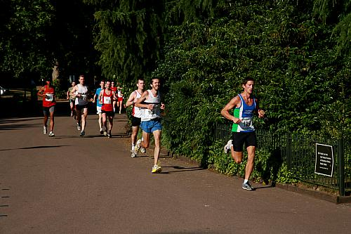 Battersea Park 10 Mile Race:  July 4th 2009