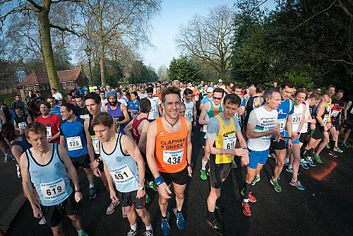 Battersea Park 10k Race: March 24th 2012