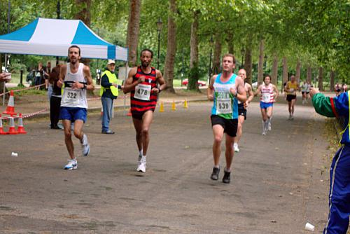 Battersea Park 10K Race: June 12th 2010.