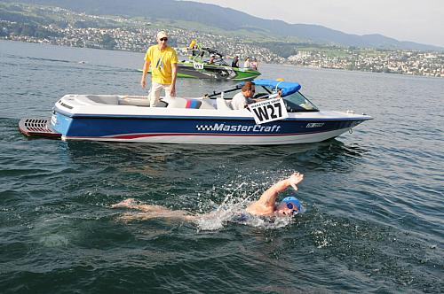 26th Self-Transcendence Marathon-Swim, Rapperswil-Zürich 2013